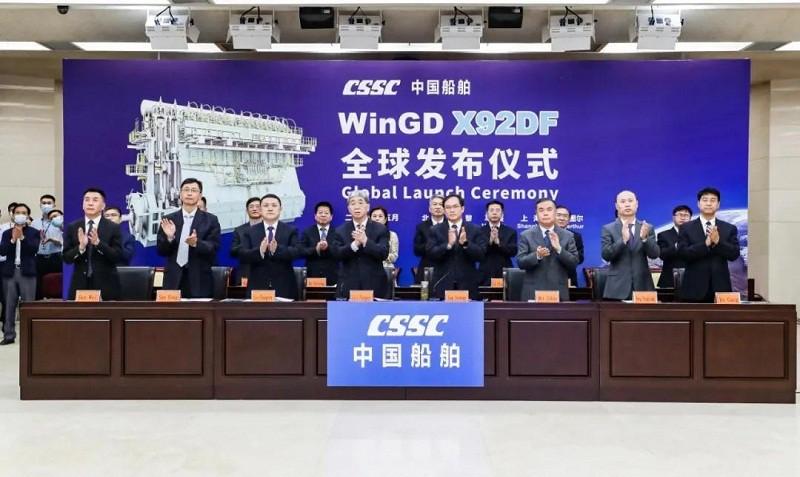 W Chinach zainaugurowano największy na świecie wolnoobrotowy silnik dual-fuel (wideo) - GospodarkaMorska.pl