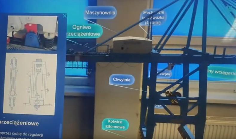 Nowe narzędzie szkoleniowe Centrum Nowych Kompetencji - aplikacja rozszerzonej rzeczywistości [wideo] - GospodarkaMorska.pl