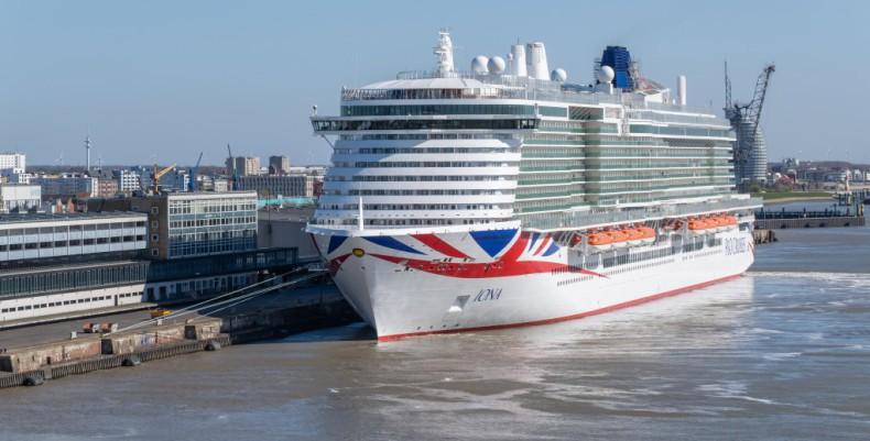 Największy brytyjski statek wycieczkowy przypłynie do Rotterdamu - GospodarkaMorska.pl