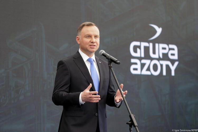 Prezydent: Polimery Police zmienią mapę przemysłową całej Polski. Powstanie 400 miejsc pracy, a pośrednio trzy razy więcej - GospodarkaMorska.pl