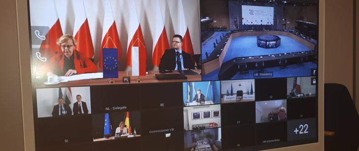 MGMiŻŚ na wideokonferencji ministrów transportu - GospodarkaMorska.pl