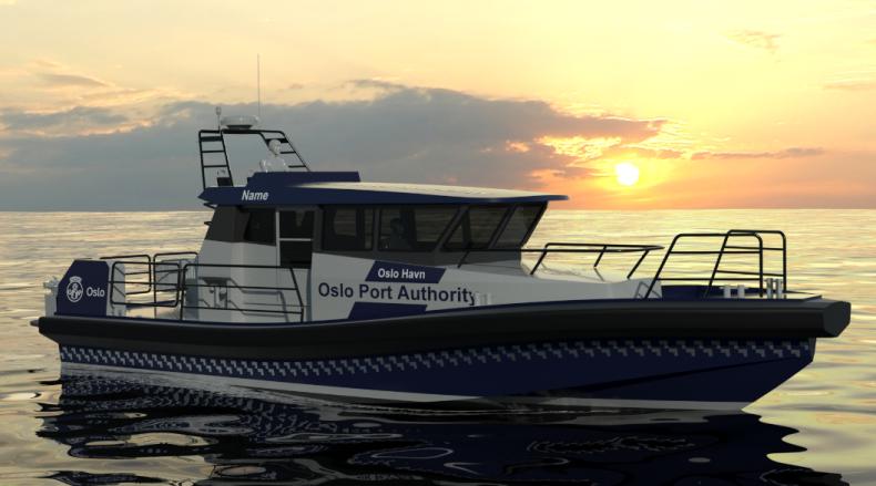 Port Oslo zamówił nową ekologiczną jednostkę patrolową - GospodarkaMorska.pl