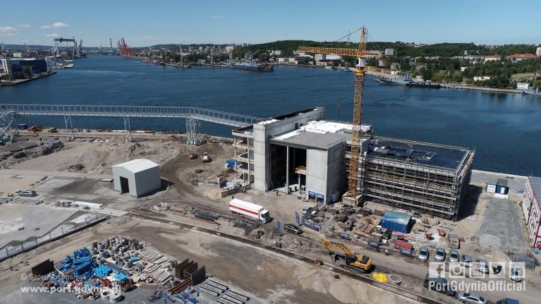 Port Gdynia otwiera nowy rozdział w transporcie handlowo- pasażerskim (foto, wideo) - GospodarkaMorska.pl