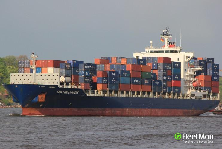 RPA: Kontenerowiec Hapag-Lloyd wciąż pod kwarantanną. U trzeciego marynarza wykryto COVID-19 - GospodarkaMorska.pl