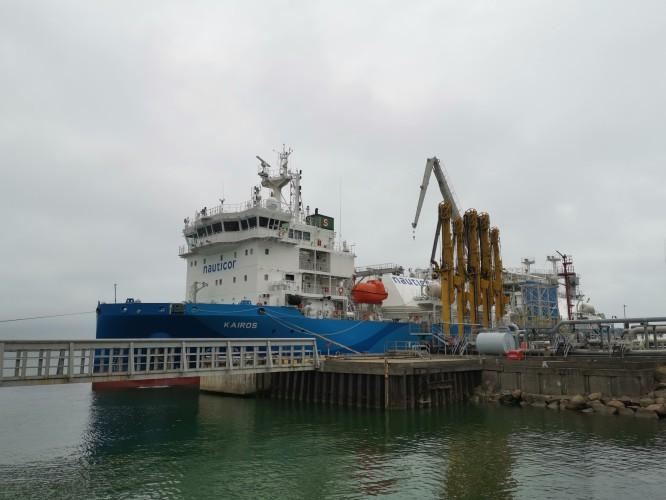 Pierwsza dostawa LNG drogą morską do terminala PGNiG w Kłajpedzie - GospodarkaMorska.pl
