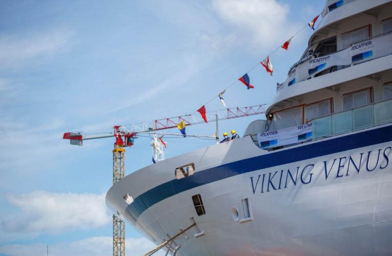 We Włoszech zwodowano najnowszy wycieczkowiec Vikinga - GospodarkaMorska.pl