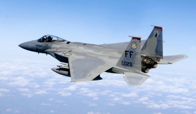 Nie żyje pilot F-15, który rozbił się nad Morzem Północnym - GospodarkaMorska.pl