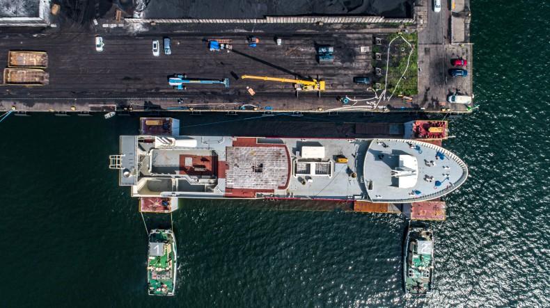 Stocznia Karstensen Shipyard Poland zwodowała kolejną jednostkę rybacką [foto, wideo] - GospodarkaMorska.pl