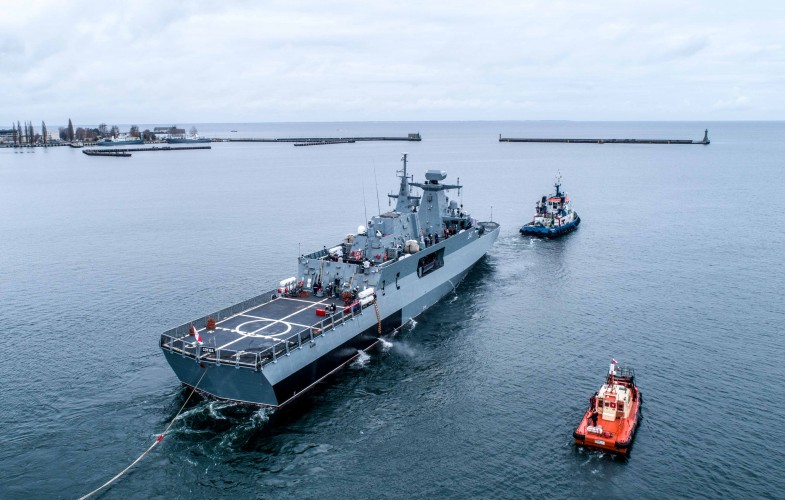 Ślązak pozytywnie przechodzi próby morskie. W marcu 2019 r. ma trafić do MW - GospodarkaMorska.pl