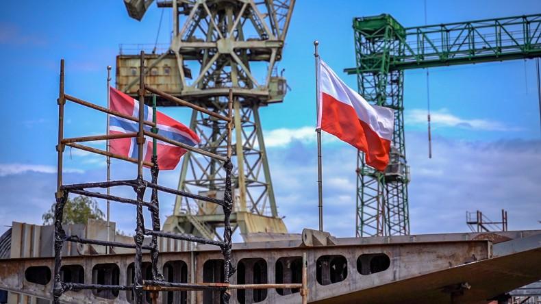 Stocznia Safe położyła stępkę pod budowę w pełni wyposażonego statku rybackiego - GospodarkaMorska.pl