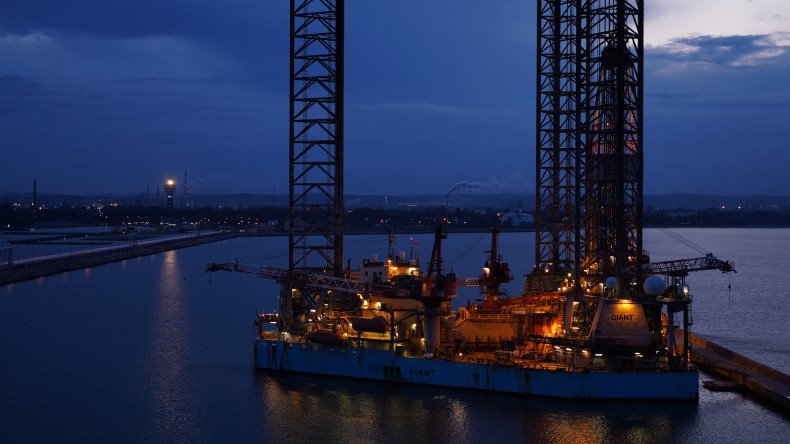 GIANT – największa platforma LOTOS Petrobaltic – w Porcie Gdańsk - GospodarkaMorska.pl