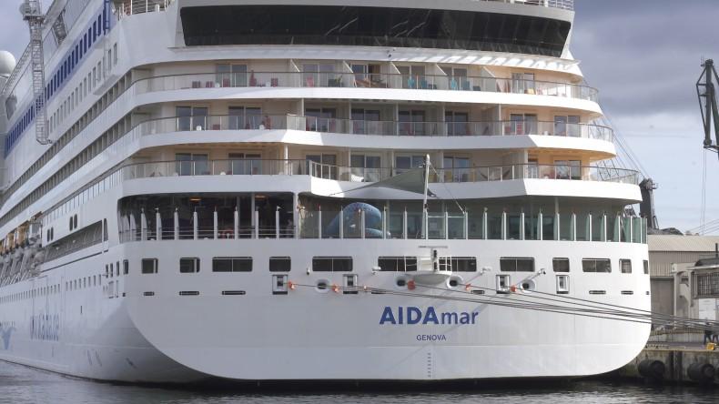 AIDAmar zakończyła sezon wycieczkowców w Porcie Gdynia - GospodarkaMorska.pl