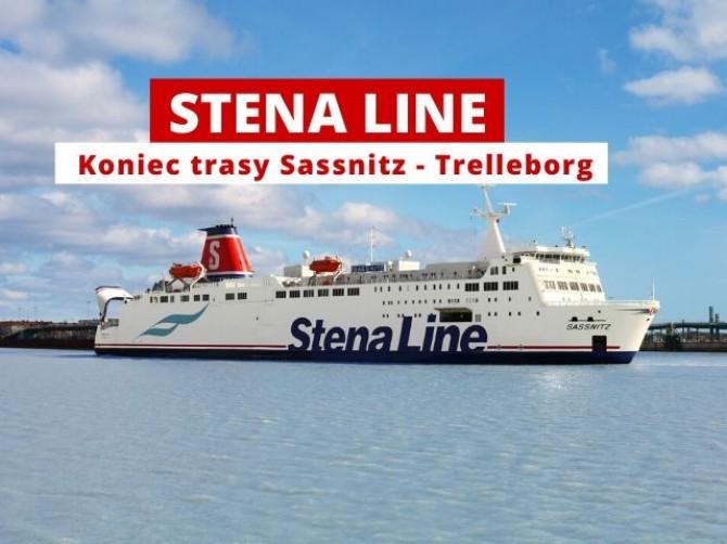 Stena Line zamyka linię Sassnitz - Trelleborg - GospodarkaMorska.pl