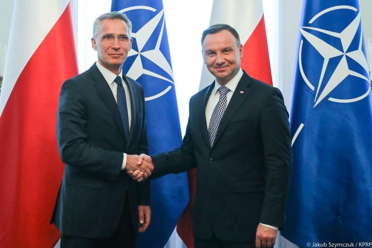 Stoltenberg: dobra rozmowa z prezydentem Dudą m.in. o więzach transatlantyckich - GospodarkaMorska.pl