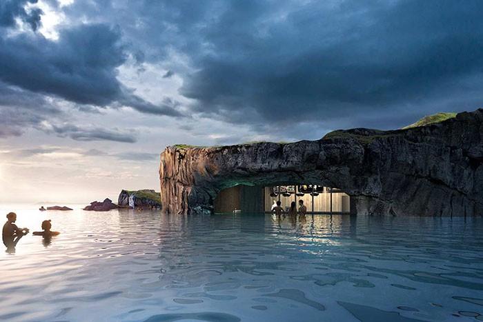 Tam, gdzie niebo spotyka się z oceanem - poznajcie islandzką lagunę (foto, wideo) - GospodarkaMorska.pl