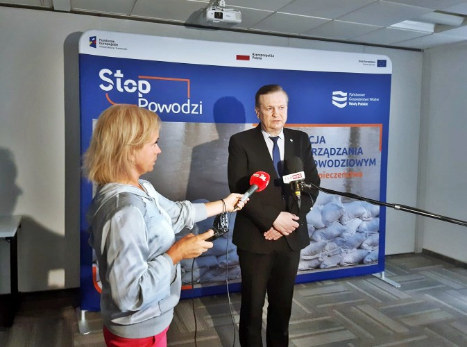 Wody Polskie: Ruszył projekt Stop Powodzi - GospodarkaMorska.pl