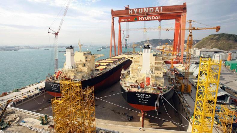 Hyundai Heavy łączy przemysł stoczniowy i offshore, aby przetrwać kryzys - GospodarkaMorska.pl