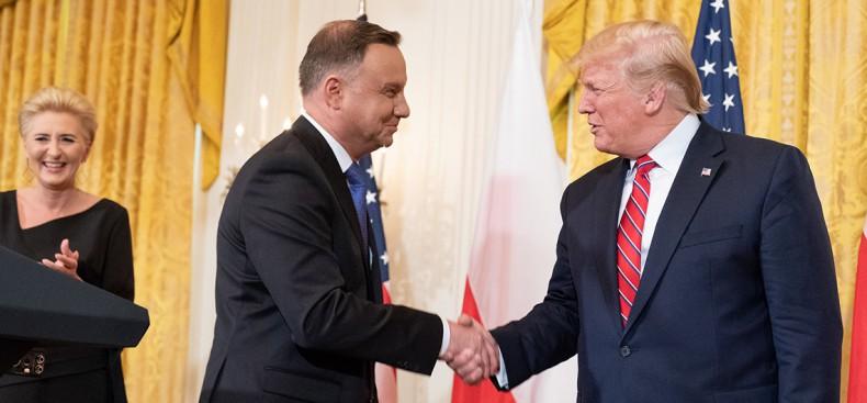 Trump i Duda: relacje polsko-amerykańskie nigdy nie były lepsze - GospodarkaMorska.pl