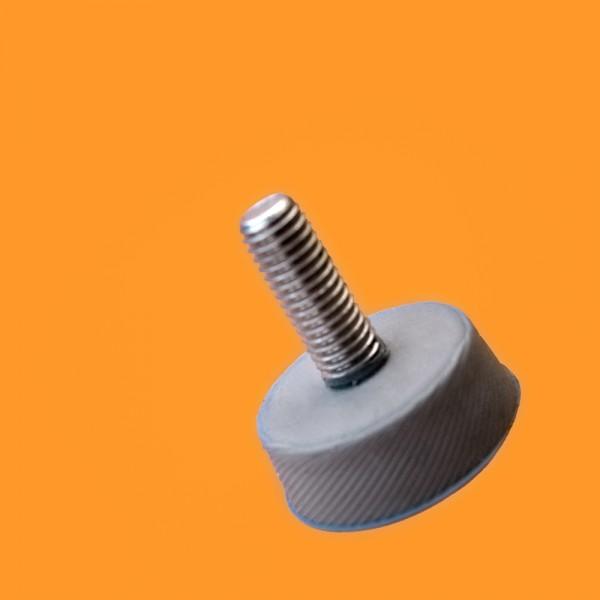 stopka nóżka silikonowa m10 stal nierdzewna