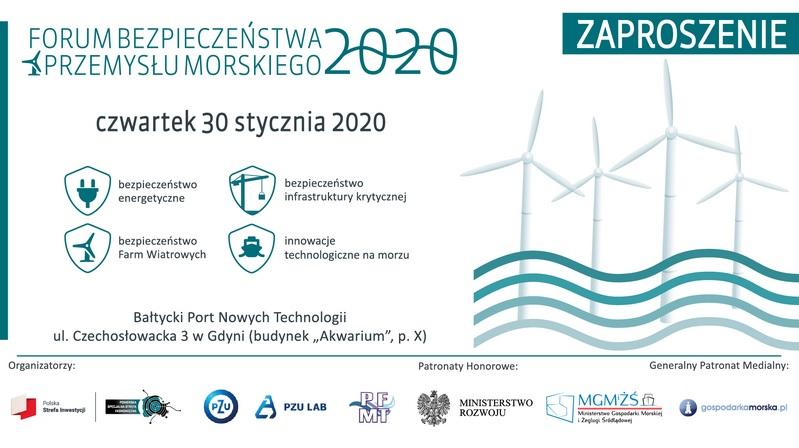 Forum Bezpieczeństwa Przemysłu Morskiego 2020 - GospodarkaMorska.pl