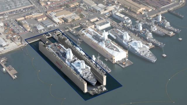 W San Diego powstanie największy w USA suchy dok - GospodarkaMorska.pl