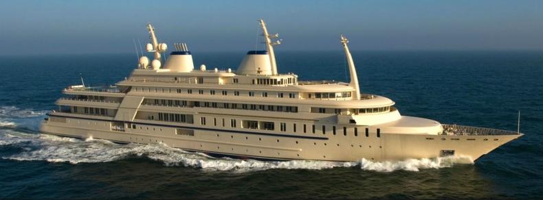 Zobacz Al Said – najpotężniejszy super jacht na świecie - GospodarkaMorska.pl