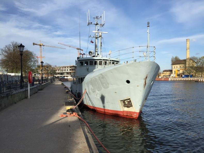 Zacumowane na gdańskiej Motławie dwa duńskie okręty czekają na remont - GospodarkaMorska.pl