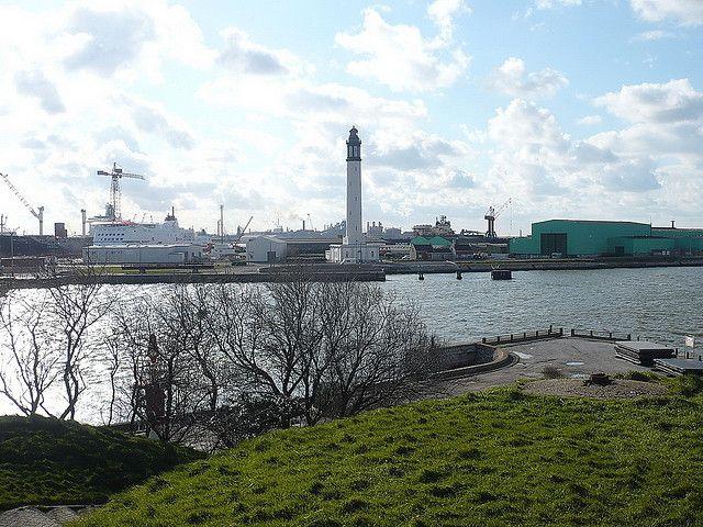 Rozpoczęto budowę nowego terminala DFDS w Dunkierce - GospodarkaMorska.pl