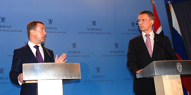 Pięć lat rosyjsko-norweskiego porozumienia o podziale 175 tys km2 spornych wód arktyki - GospodarkaMorska.pl
