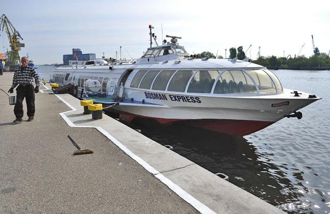 1 czerwca wodolot Bosman Express wróci na trasę - GospodarkaMorska.pl