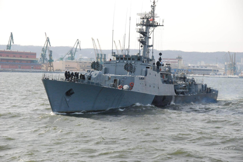 ORP KASZUB w manewrach NATO - GospodarkaMorska.pl