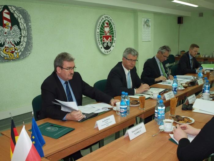 Wizyta prezydentów dyrekcji Bundespolizei - GospodarkaMorska.pl