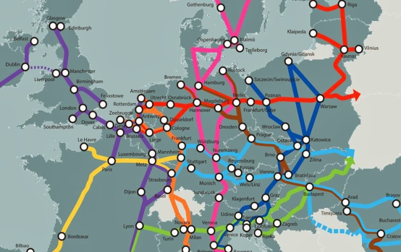 Rządowe rozmowy o korytarzu sieci bazowej TEN-T Morze Północne-Bałtyk - GospodarkaMorska.pl