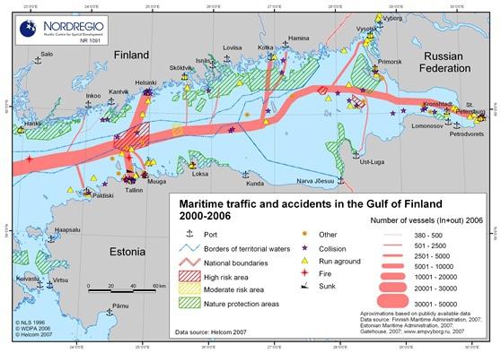 Ryzyko wycieku ropy w Zatoce Fińskiej - GospodarkaMorska.pl
