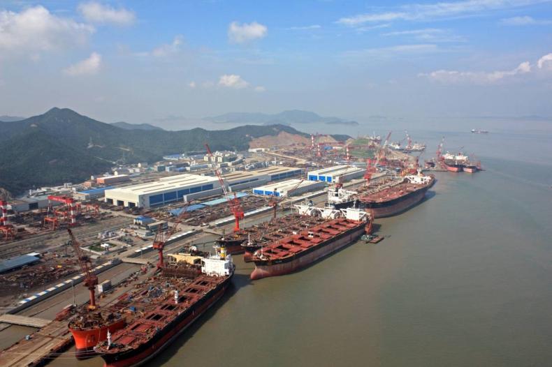 Cosco: Niskie ceny budowy statków powinny się utrzymać - GospodarkaMorska.pl