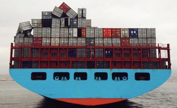Dlaczego kontenery lądują w wodzie? - GospodarkaMorska.pl