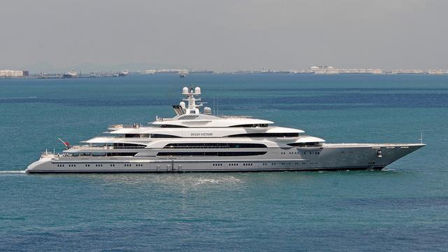 Największe jachty świata: Ocean Victory (9. miejsce) - GospodarkaMorska.pl