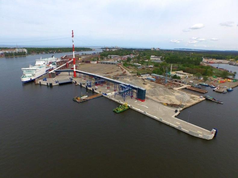Terminal promowy w Świnoujściu prawie skończony - GospodarkaMorska.pl