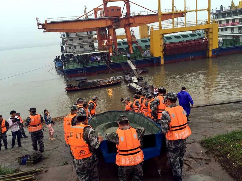 Tragedia w Chinach. Zatonął statek z 458 pasażerami na pokładzie - GospodarkaMorska.pl