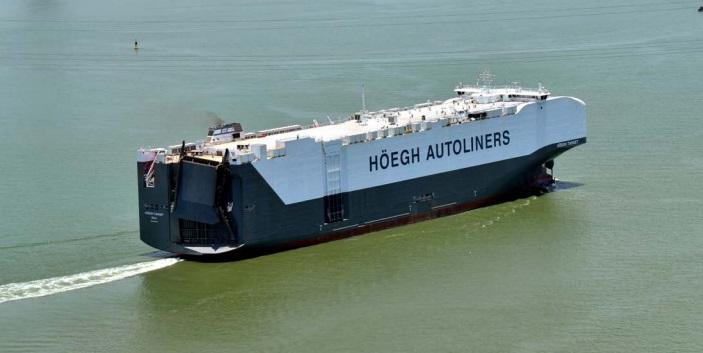 Największy na świecie statek PCTC już w rękach Höegh Autoliners - GospodarkaMorska.pl