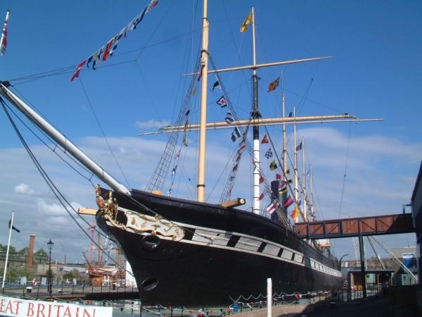 """Pierwszy (i pechowy) na kilka sposobów. 172 rocznica wodowania SS """"Great Britain"""" - GospodarkaMorska.pl"""