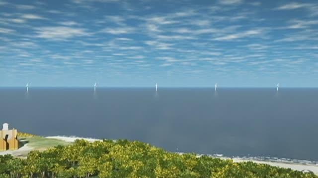 Pierwsza amerykańska morska farma wiatrowa już w budowie - GospodarkaMorska.pl