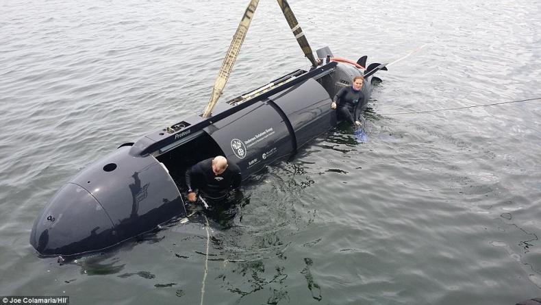 Amerykanie wybudowali mini okręt podwodny niczym z arsenału Jamesa Bonda (WIDEO) - GospodarkaMorska.pl