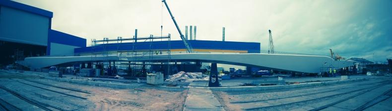 Zaprojektowany przez Polaka most dopłynął już do Kopenhagi - GospodarkaMorska.pl