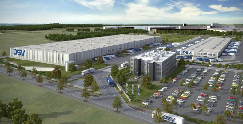 DSV otworzyło największe centrum logistyczne w Niemczech - GospodarkaMorska.pl