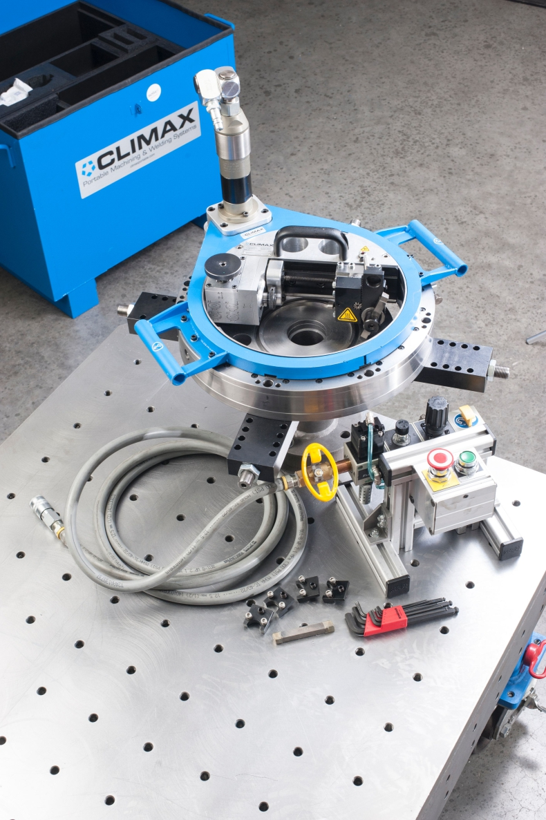 CLIMAX Portable Machining & Welding Systems zaprasza na BALTEXPO - GospodarkaMorska.pl