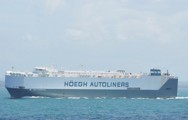 Zbudowany w Polsce statek HØEGH Transporter został wydany armatorowi - GospodarkaMorska.pl