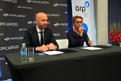 PKP CARGO poszuka z ARP innowacyjnych rozwiązań biznesowych - GospodarkaMorska.pl