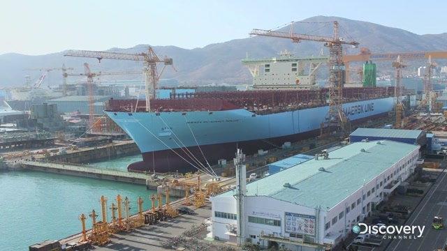 Jak wygląda budowa największych kontenerowców? Zobacz wideo - GospodarkaMorska.pl