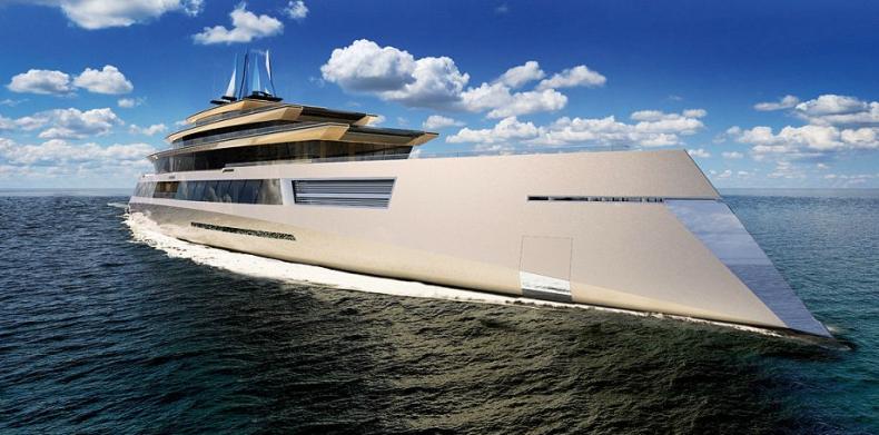 Mega-super jacht przyszłości (zdjęcia) - GospodarkaMorska.pl